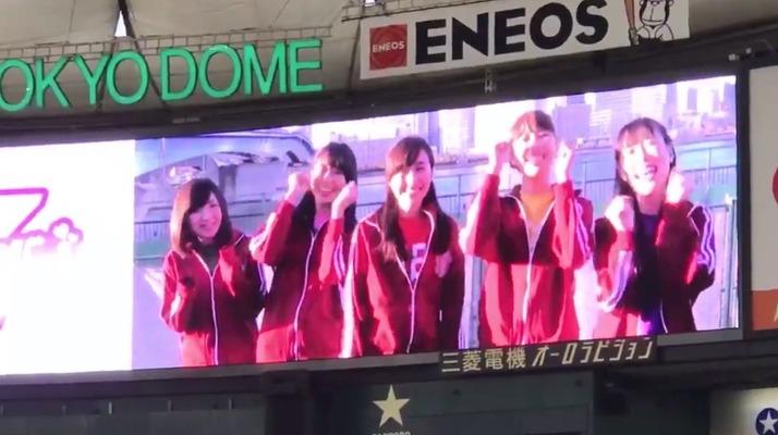 【エンタメ画像】ももクロから巨人・宇佐見真吾選手へサプライズVTR!!!ももクロ『来年はぜひ私達の曲を!! 頑張って〜!!』