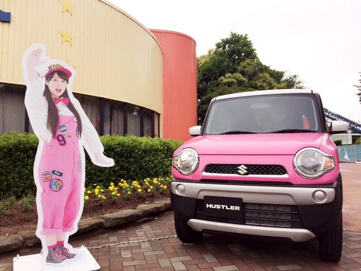 【エンタメ画像】5,色のハスラー&ももクロポップを写真で紹介!福岡・スペースワールドでの展示は6/14(日)まで!『是非園内で一緒に写真をっ☆』