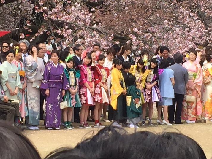 【エンタメ画像】ももクロ、安倍首筋相主催『桜を見る会』3年連続 4度目の出席!!kwkm「今年はあったかい」