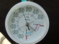 朝7時外気温