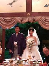 藤井さん結婚式2