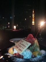 1周年東京タワー