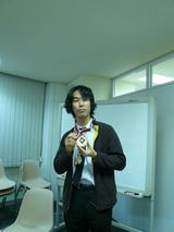 メダル贈呈