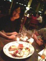 富田さん誕生日会