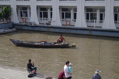 ボートのオッサン