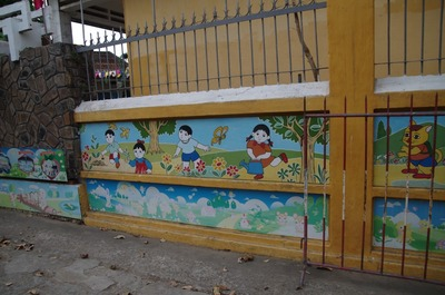 幼稚園の壁画