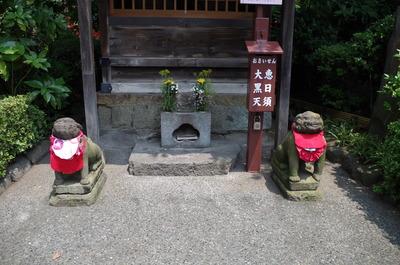 浅草寺恵日須大黒天堂の狛犬