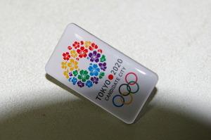 オリンピック招致バッジ