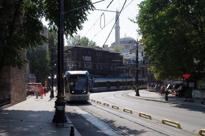 イスタンブールのトラム