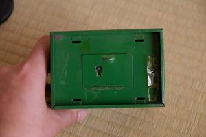 電話料金箱裏蓋