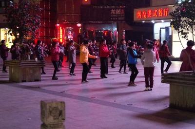 紹興の広場舞