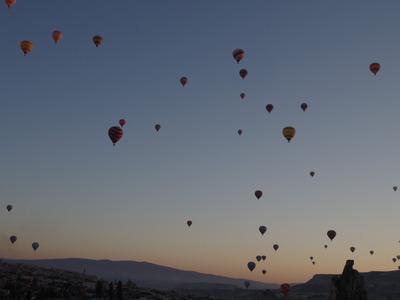 カッパドキア気球1024x768
