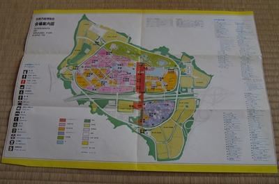 万博会場地図