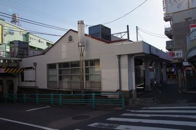 洗足池駅(駅舎)