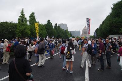 議事堂前の道路2