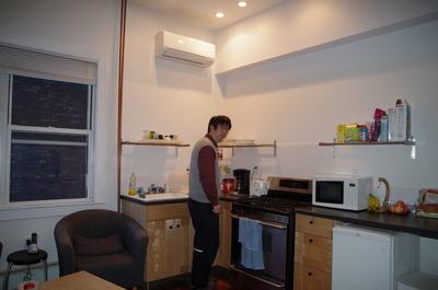 マイケルNYの共同キッチン