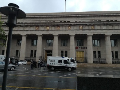 満州国中央銀行の現金輸送車