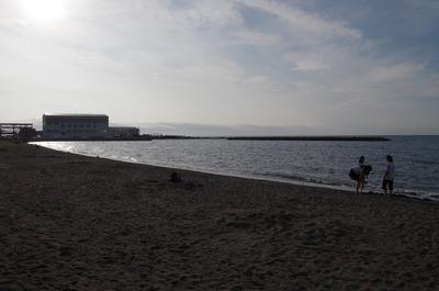 合浦公園の海岸
