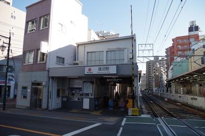 蓮沼駅(蒲田方面改札)