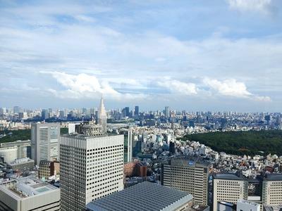 都庁展望室からの眺め
