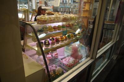 チェルシー・マーケットのカップケーキ屋