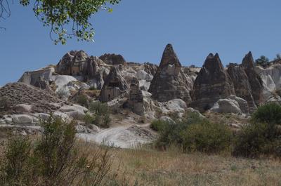 ゼミ渓谷の奇岩