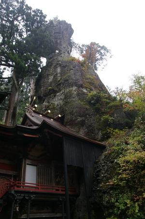 榛名神社(姿岩)