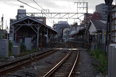 池上駅(ホーム)