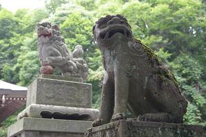 戸隠神社中社の狛犬