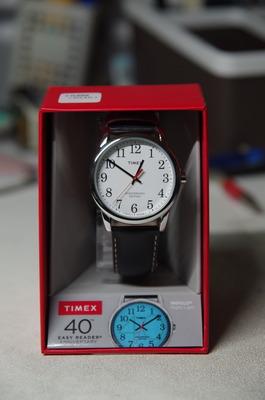 TIMEXイージーリーダー(箱の中身)