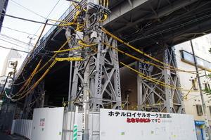 五反田駅の脚