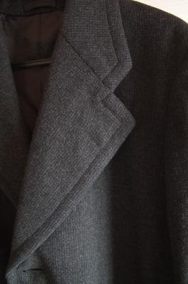 祖父のコート(襟)