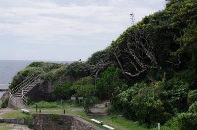 神楽岩から下