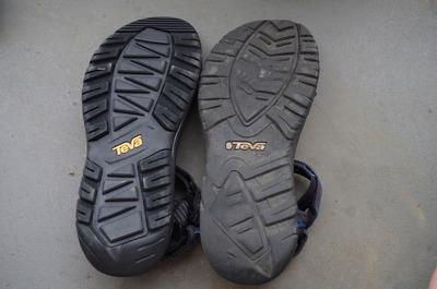 TEVA靴底