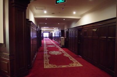 現在のハルビンヤマトホテル(廊下)