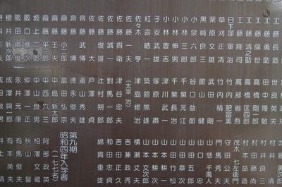 卒業名簿(太宰)