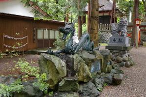 宇賀神社の龍