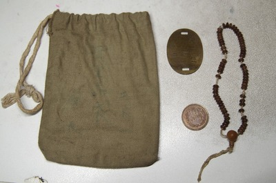 袋と数珠と認識票