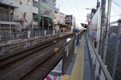 蓮沼駅(ホーム)