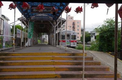 弘前中央駅のホーム