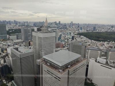 都庁南展望室からの眺め