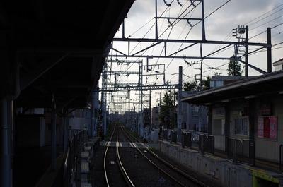 五反田方面の線路