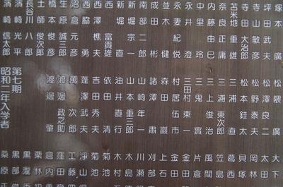 卒業名簿(山崎年一)