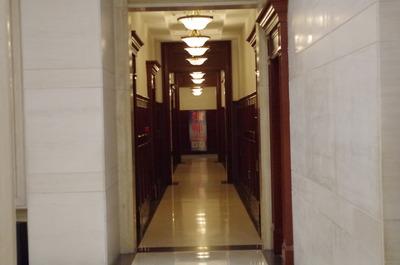 現在の長春ヤマトホテル(廊下)
