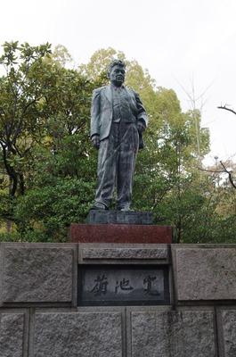 菊池寛銅像