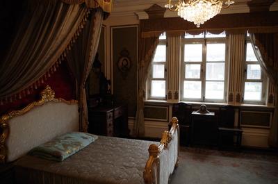 譚玉齢臥室