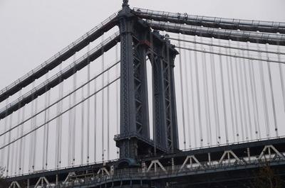 マンハッタン橋のトラス