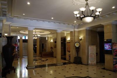 現在のハルビンヤマトホテル(ロビー)