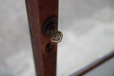 ガラス戸の鍵