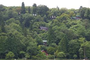 野尻湖国際村の別荘
